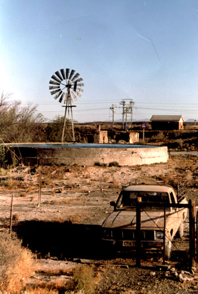 Typical Karoo landscape