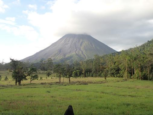 Arenal volcano - still active
