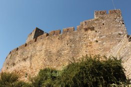 Castle walls at Tomar