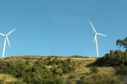 Wind Turbines outside Lisbon