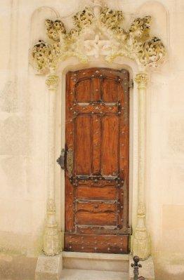 Doors to Sintra's Quinta Da Regaleira