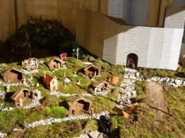 Nativity - even had the local castle !