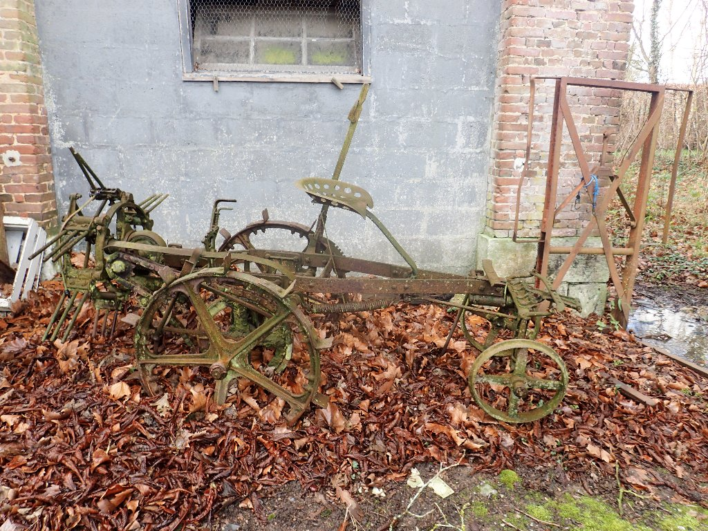 Old farm equipment!