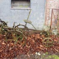 Old farm equipment!